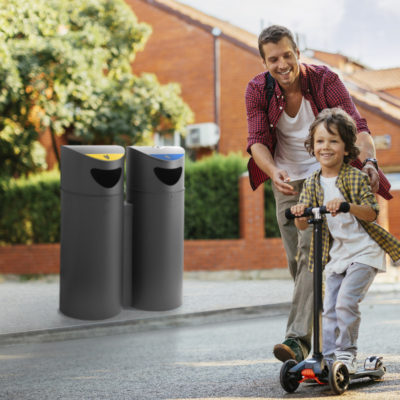 EXTERIOR WASTE SORTING
